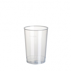 20 x  40 Trinkbecher, PP 0,2 l Ø 6,8 cm · 9,8 cm transluzent unzerbrechlich