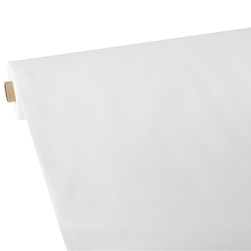 """100 weisse Mitteldecken stoffähnlich Vlies /""""soft selection plus/"""" 100 cm x 100 cm"""