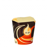 10 x  50 Snackboxen To Go eckig 550 ml 10 cm x 8,5 cm x 7,5 cm