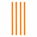 10 x  135 Shake-Halme Ø 8 mm · 25 cm orange