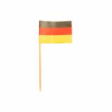 10 x  200 Deko-Picker 8 cm Deutschland