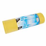 4 x  50 Müllsäcke, LDPE 120 l 110 cm x 70 cm gelb