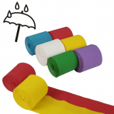 10 x  6 Rollen Krepp-Bänder 10 m x 5 cm farbig sortiert wasserfest