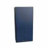 20 x  Wein-Präsentkarton 36 cm x 18 cm x 9 cm blau für 2 Flaschen