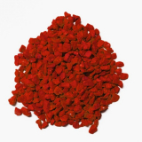 6 x  Deko - Granulat 500 ml rot 2 - 3 mm