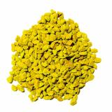6 x  Deko - Granulat 500 ml gelb 2 - 3 mm