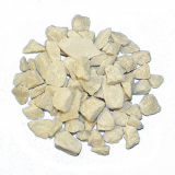 6 x  Deko - Steine 500 ml champagner 9 - 13 mm
