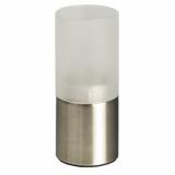 8 x  Kerzenhalter, Edelstahl Ø 50 mm · 120 mm für Teelichte