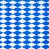 36 x  100 Servietten, 1-lagig 1/4-Falz 33 cm x 33 cm Bayrisch Blau