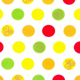 10 x  20 Servietten, 3-lagig 1/4-Falz 33 cm x 33 cm Balls