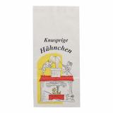 10 x  100 Hähnchenbeutel, Papier mit Alu-Einlage 28 cm x 13 cm x 8 cm Max & Moritz 1/1