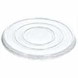 6 x  50 Deckel für Salatschalen, R-PET rund Ø 18 cm · 1,5 cm klar