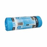 9 x  10 Müllsäcke, LDPE 120 l 110 cm x 70 cm blau