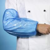 20 x  100 Schutzärmel, LDPE 40 cm x 20 cm blau