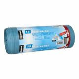 4 x  15 Müllsäcke, LDPE 240 l 125 cm x 100 cm blau