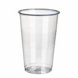 12 x  18 Trinkbecher, PP 0,5 l Ø 9,5 cm · 13,7 cm transparent