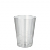 20 x  50 Trinkbecher, PS 0,2 l Ø 7,5 cm · 9,7 cm glasklar