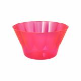 4 x  54 Eis- und Dessertschalen, PS rund 400 ml Ø 12 cm · 7 cm pink