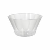 6 x  20 Eis- und Dessertschalen, PS rund 400 ml Ø 12 cm · 7 cm glasklar
