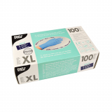 10 x  100 Handschuhe, Nitril puderfrei blau Größe XL