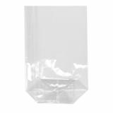 4 x  300 Bodenbeutel, PP 15 cm x 10 cm x 3,5 cm transparent
