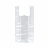 20 x  200 Hemdchen-Tragetaschen, HDPE 42 cm x 21 cm x 13 cm weiss
