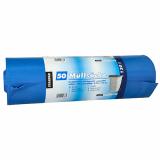 4 x  50 Müllsäcke, LDPE 120 l 110 cm x 70 cm blau