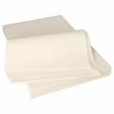 Pergament-Ersatz, 1/8 Bogen 37,5 cm x 25 cm weiss à 12,5 kg, fettdicht