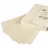 5 x  1000 Blatt Sahneabdeckpapier 32 cm x 22 cm weiss