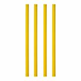 10 x  135 Shake-Halme Ø 8 mm · 25 cm gelb