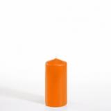 10 x  Stumpenkerze Ø 50 mm · 100 mm orange
