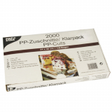 2000 Zuschnitte, PP 36 cm x 24 cm transparent