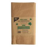 10 x  3 Kompostsäcke aus Papier 120 l 108 cm x 69 cm x 21,5 cm braun