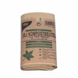 20 x  10 Kompostbeutel aus Papier 10 l 35 cm x 21 cm x 15 cm braun