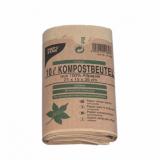 4 x  50 Kompostbeutel aus Papier 10 l 35 cm x 21 cm x 15 cm braun