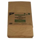 10 x  2 Kompostsäcke, 2-lagiges Kraftpapier 240 l 115 cm x 80 cm x 30 cm braun , 2-lagig