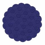20 x  20 Tassen-Untersetzer rund Ø 9 cm dunkelblau 9-lagig