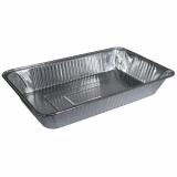 5 x  3 Gastronorm-Behälter, Alu eckig 8,5 l 8 cm x 32,6 cm x 52,7 cm 1/1