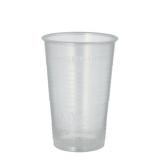 25 x  100 Trinkbecher, PP 0,3 l Ø 7,8 cm · 11,3 cm transparent