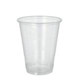32 x  50 Trinkbecher, PP 0,3 l Ø 9,5 cm · 11,1 cm transparent mit Schaumrand