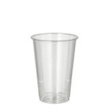 30 x  100 Kaltgetränkebecher, PLA pure 0,2 l Ø 7,03 cm · 9,7 cm glasklar