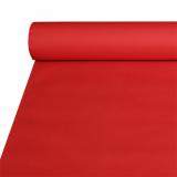 2 x  Tischdecke, stoffähnlich, Airlaid 20 m x 1,2 m rot