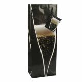 5 x  10 Lacktragetaschen, Flasche 36 cm x 13 cm x 9 cm Sparkling Wine