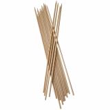 10 x  200 Schaschlikspieße, Holz pure Ø 5 mm · 40 cm
