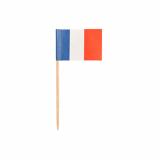10 x  500 Deko-Picker 8 cm Frankreich