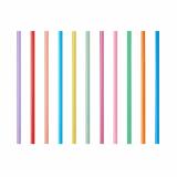 10 x  135 Shake-Halme Ø 8 mm · 25 cm farbig sortiert