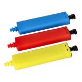 10 x  Pumpe für Luftballons 26 cm x 6 cm farbig sortiert