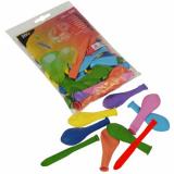 10 x  50 Luftballons farbig sortiert verschiedene Formen