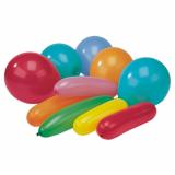15 x  10 Luftballons farbig sortiert verschiedene Formen