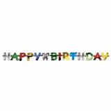20 x  Grußkette 1,4 m Happy Birthday